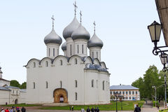 Saint Sophia Cathedral in Vologda. It is the ancient St. Sophia Cathedral, built in the 16th century by order of the Russian Tsar Ivan the Terrible May 24, 2013 Stock Photography