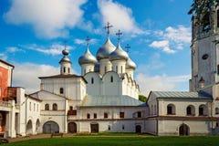 Saint sophia cathedral in vologda. Orthodox Saint Sophia Cathedral in Vologda Kremlin. Russia royalty free stock image