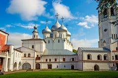 Saint sophia cathedral in vologda. Orthodox Saint Sophia Cathedral in Vologda Kremlin. Russia royalty free stock photos