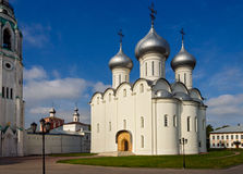 Saint sophia cathedral in vologda. Orthodox Saint Sophia Cathedral in Vologda. Russia summer Stock Images