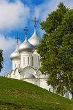 Saint sophia cathedral in vologda. Orthodox Saint Sophia Cathedral in Vologda. Russia summer Stock Photo