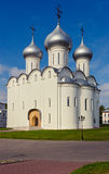 Saint sophia cathedral in vologda. Orthodox Saint Sophia Cathedral in Vologda. Russia summer royalty free stock photo