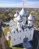 Saint Sophia Cathedral in Vologda. Russia Royalty Free Stock Photography
