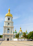 Saint Sophia Church in Kiev. With a high tower bell, Ukraine Stock Photo