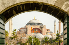 Saint Sophia in Constantinople Royalty Free Stock Photo