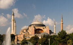 Saint Sophia in Istanbul stock images