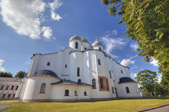 Saint Sophia in Novgorod Stock Photos