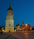 Saint Sophia& x27;s Cathedral and  bell tower Stock Photo