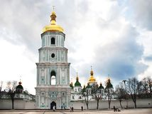 Saint Sophia`s Cathedral, Kiev, Ukraine royalty free stock images