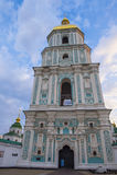 Saint Sophia`s Cathedral, Kiev. KIEV , UKRAINE - JUNE 05 : The cathedral of Saint Sophia in Kiev , Ukraine on June 05 2017 The cathedral is unesco world heritage Stock Photos