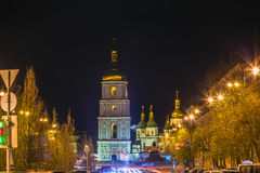 Saint Sophia Sofia Cathedral Sofiyskaya Square Kiev Ukraine Royalty Free Stock Photo
