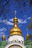 Saint Sophia Sofia Cathedral Spires Tower Kiev Ukraine Royalty Free Stock Photos