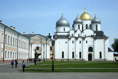 Saint Sophie Cathedral. Novgorod, Russia. Stock Photography