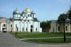 Saint Sophie Cathedral. Novgorod, Russia. Royalty Free Stock Photography