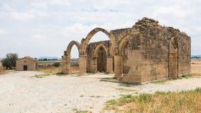 Saint Sozomenos Abandoned village in Cyprus Royalty Free Stock Image