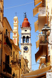 Saint Spiridion church, Corfu Town, Greece Stock Photos