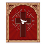 Saint spirit dove Royalty Free Stock Photo