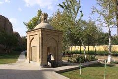 Saint spring in Samarkand, Uzbekistan Royalty Free Stock Image