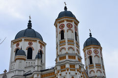 Saint Spyridon la nouvelle église Images stock