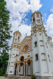 The Saint Spyridon the New Church (Romanian: Sfântul Spiridon Nou) is a Romanian Orthodox church in Bucharest,Romania. Royalty Free Stock Photography
