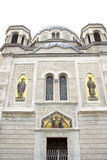 Saint Spyridon`s Serbian Orthodox Church in Trieste Stock Photography