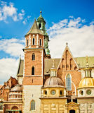 Saint Stanislas Cathedral at Wawel castle Stock Image
