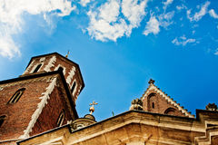 Saint Stanislas Cathedral at Wawel castle royalty free stock photo