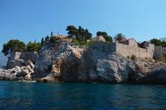 Saint Stefan  island Montenegro Royalty Free Stock Photos