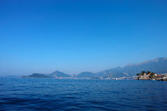 Saint Stefan  island Montenegro Royalty Free Stock Photography