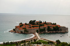 Saint Stefan island,Montenegro Royalty Free Stock Image