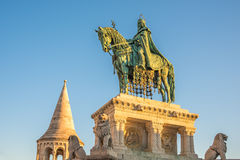Saint Stefan Statue in Budapest, Hungary Stock Photography