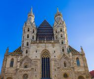 Saint Stephan cathedral in Vienna Austria. Cityscape architecture background Royalty Free Stock Photography