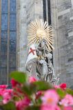 Saint Stephan figure Royalty Free Stock Photo