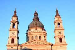 Saint Stephane Basilica Budapest. Saint Stephane Basilica bell tower in Budapest the capital of Hungary Stock Image