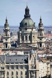 Saint Stephen basilica in Budapest Stock Images