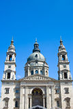 Saint Stephen Basilica In Budapest Royalty Free Stock Photos