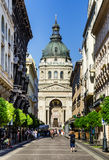 Saint Stephen Basilica in Budapest, Hungary Royalty Free Stock Image