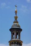 Saint Stephen Basilica in Budapest - tower details royalty free stock photos