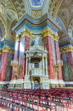 Saint Stephen basilica interior, Budapest, Hungary Royalty Free Stock Photo
