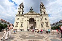 saint stephen för basilica s Royaltyfri Bild