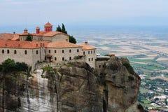 Saint Stephen Holy Monastery, Meteora, Greece Stock Image
