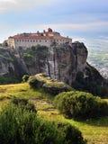 Saint Stephen Holy Monastery, Meteora, Greece Stock Images