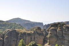 Saint Stephen Monastery de Meteora de Kalambaka em Grécia fotos de stock royalty free