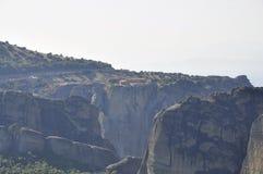 Saint Stephen Monastery de Meteora de Kalambaka em Grécia imagem de stock royalty free