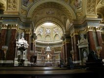 Saint Stephen's Basilica Royalty Free Stock Photos