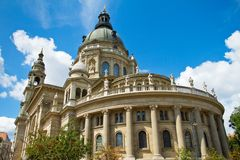 Saint Stephen's Basilica in Budapest Stock Image