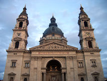 Saint Stephen's Basilica - Budapest. As a symbol of the Hungary's Christian and Catholic identity in a region where the Muslim and the orthodox were strong Stock Photos