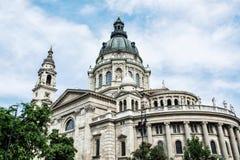 Saint Stephen's basilica, Budapest, Hungary, architectural theme Royalty Free Stock Photos