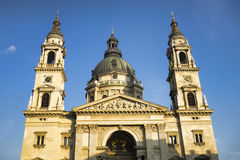 Saint Stephen`s Basilica in Budapest, Hungary. Stock Photo
