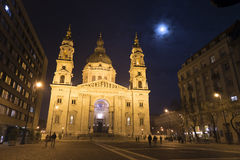 Saint Stephen`s Basilica in Budapest, Hungary. Stock Images